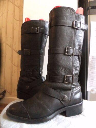 Uk4 spenner støvler Lær Belstaff 37 £ 3 med 650 apORT
