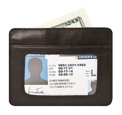 Travelon RFID Blocking Leather Cash and Card Sleeve 72488-500