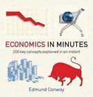 Economics in Minutes by Niall Kishtainy (Paperback / softback)