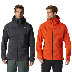 Details about adidas Mens Terrex Multi 3 Layer Jacket Goretex GTX Waterproof Hooded Shell Coat