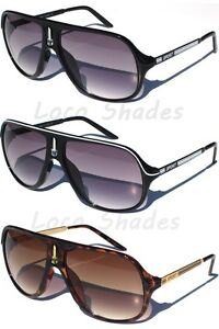 SPORT-TURBO-AVIATOR-SUNGLASSES-Retro-Classic-Design-Sunnies-Light-Gradient-Lens