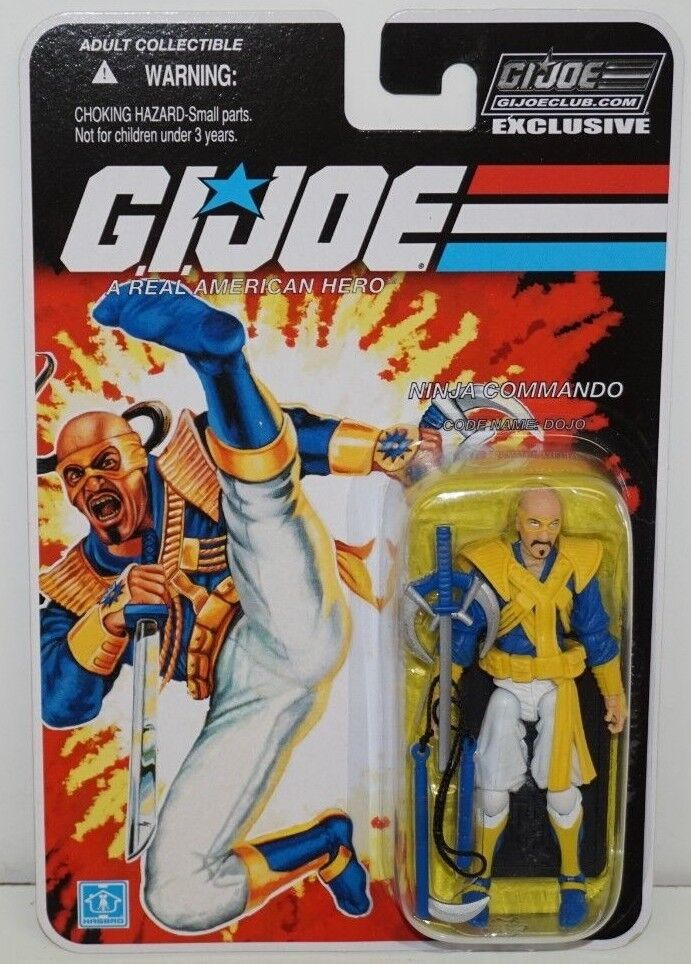 Gi - joe cobra collectors club exklusive betriebsstrukturerhebung 6-03 ninja commando dojo moc