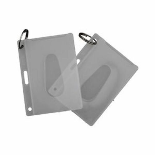 KEVRON Fuel Card Holders FREE POST 50 x Polypropylene Access Card Holders