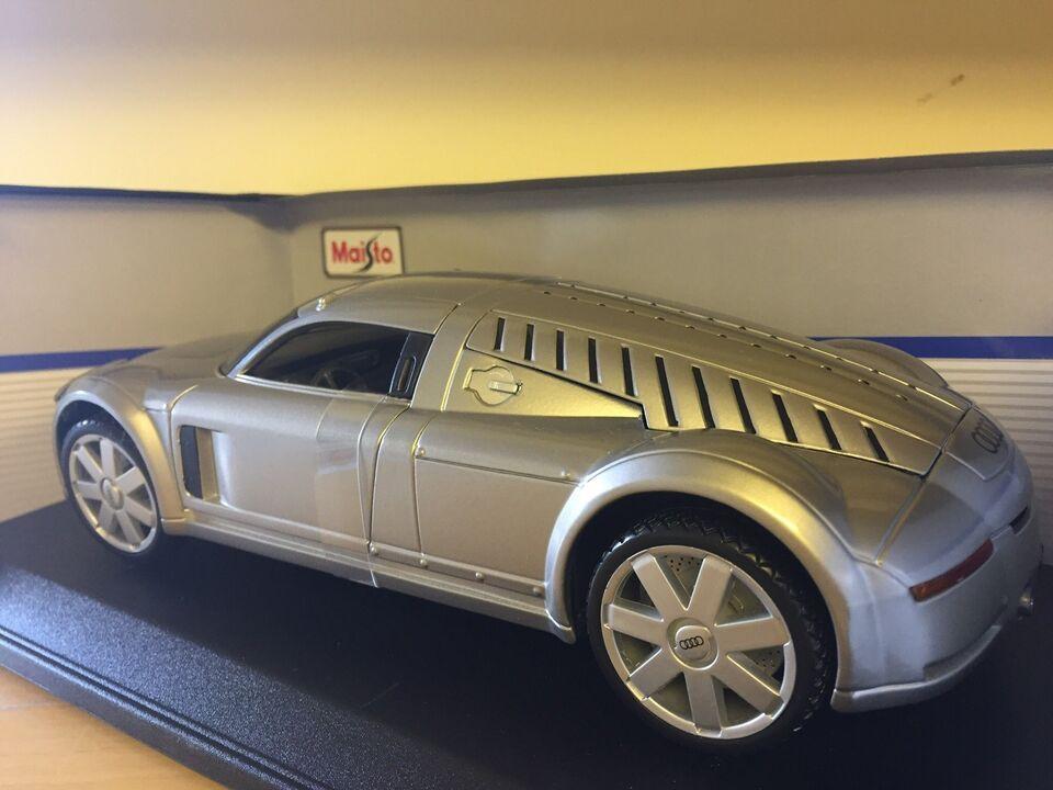 Modelbil, Audi Rosmeyer, skala 1:18