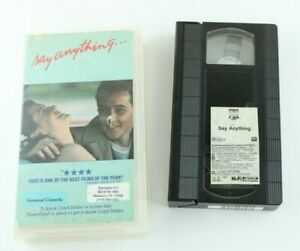 Say-Anything-VHS-Video-Store-Clamshell-Case-80s-Teen-John-Cusack