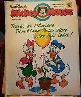 WALT DISNEY'S MICKEY MOUSE &DONALD DUCK COMIC NO 53 23 October 1976