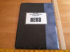 HERO 1992 Geena Davis Dustin Hoffman Press Kit with photos in folder Andy Garcia