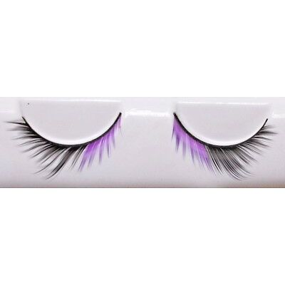 Extra Long Glitter False Eyelashes Fake Extensions Fancy Dress Party Drag Queen