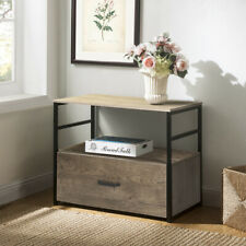 Wood File Cabinet Wood Lateral File Cabinet Storage Letter Legal Home Office