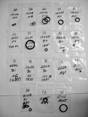 Individually Marked R&s 1.5-26.51vfx Fx Verminator Mkii Air Gun O-ring Kit