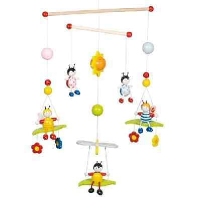Bees and Beetles Cute Bugs Insect Wooden Nursery Childrens Hanging Mobile 52954
