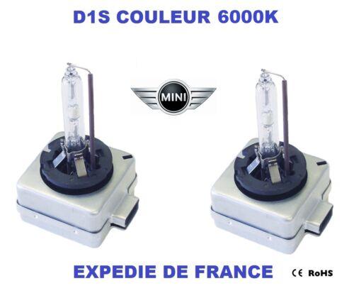 2 AMPOULES XENON D1S MINI COOPER III 2006-/> 35W 6000K NEUF