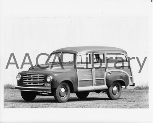 1949 Studebaker Cantrell Station Wagon Ref. #78224 Woodie Factory Photo