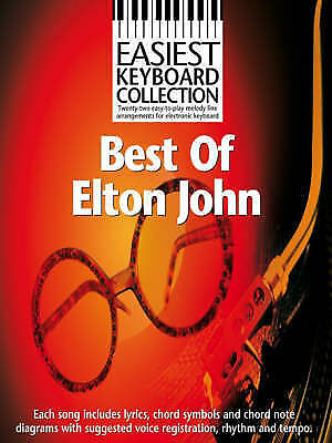 1 of 1 - Best of Elton John (Easiest Keyboard Collection), , New Book
