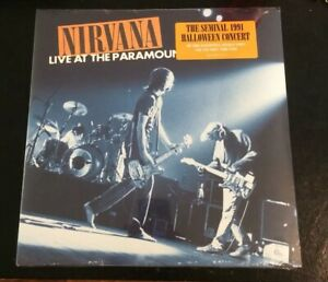 Nirvana-Live-At-The-Paramount-New-Vinyl-Halloween-1991-180g-Audiophile