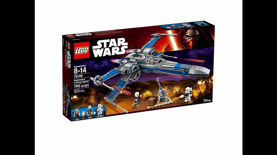 NEW Lego Star Wars Resistance X-Wing Fighter 75149 Lor San Tekka BB-8 Poe Troop