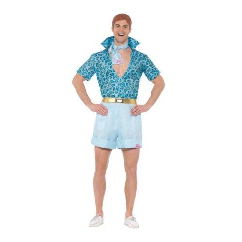 Men/'s Licensed 70/'s 80/'s Barbie Safari Ken Fancy Dress Costume TV Doll Stag Fun