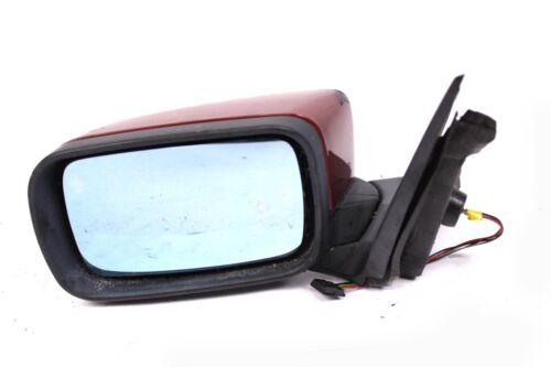 Linker exterior original bmw 3er e46 burdeos izquierda espejo eléctrico KFZ #2