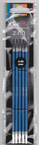 8,0 mm Zing Knit pro aguja juego 15 cm de 2,0 mm
