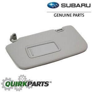 OEM 08-11 Subaru Impreza 08-14 WRX STi Driver Left Sun Visor Mirror ... fa5da3ff8a5