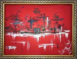 Margarita-Bonke-Malerei-PAINTING-art-abstrakt-landscape-abstract-Stadt-city-Bild