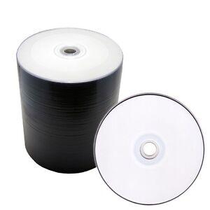 100-Pack-White-Inkjet-Hub-Printable-Blank-DVD-R-DVDR-16X-Disc