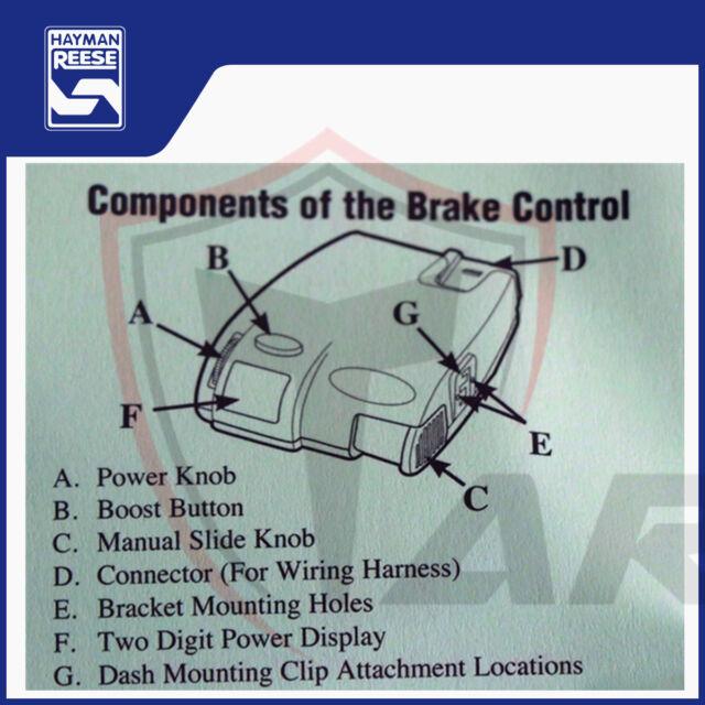 Hayman Reese Guardian Brake Controller Instructions - Best Brake 2018