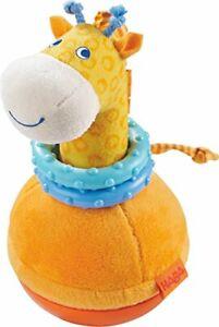 Haba-302571-Stehauffigur-Giraffe-Kleinkindspielzeug