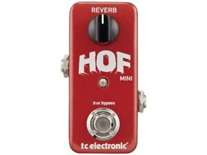 tc electronic HALL OF FAME MINI REVERB [FREE SHIPPING] [Effects Pedal]