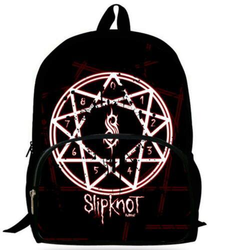 Cartoon Slipknot 3D Print Fashion Travel Bag Boys and Girls School Backpacks Y11