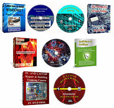 Laptop PC Repair   Learn How Reinstall Windows Training Video It Course 4 DVD