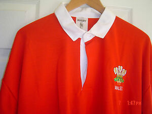 Polo à Manches longues Pays de Galles