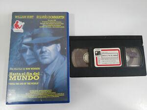 HASTA-LA-FIN-DE-LA-MONDE-WILLIAM-HURT-VHS-BANDE-FILM-COLLECTOR-CASTILLAN