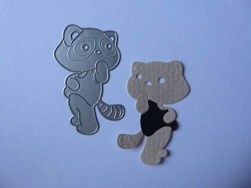 Tabby hazlo tú mismo Sweet /& Cat Lindo Corte De Metales morir plantilla elaboración de tarjetas Gatito Craft