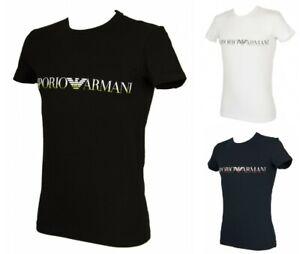 T-shirt-maglietta-uomo-girocollo-manica-corta-megalogo-EMPORIO-ARMANI-articolo-1