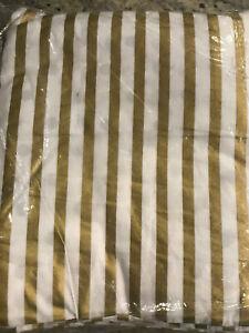 Pottery-Barn-Teen-Emily-amp-Meritt-Reversible-Metallic-Dot-Stripe-F-Q-Duvet-Cover