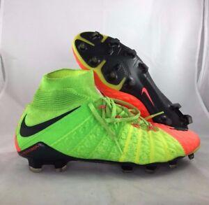 Image is loading Nike-Hypervenom-Phantom-III-DF-FG-Green-Black-