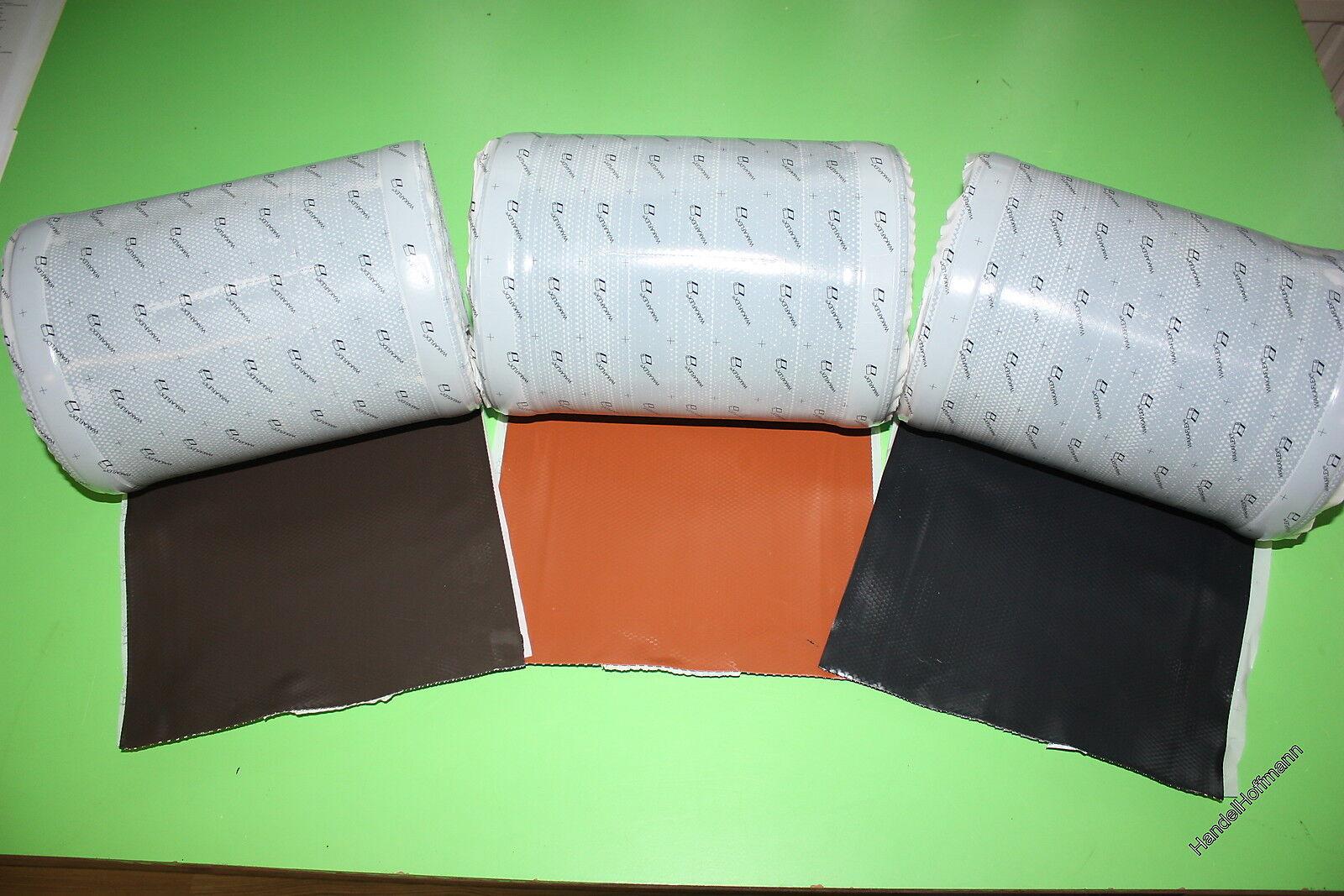 10 m Rolle Wakaflex Waka Flex Braas in rot braun oder anthrazit