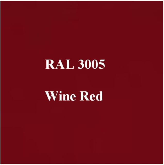 Ral 3005 High Quality Cellulose Paint Wine Red 5l Free Strainer Tack Rag