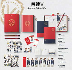 2019-WAYV-BACK-TO-SCHOOL-KIT-ID-Card-Photo-Charm-Pencil-Sticker-Pouch-Note-etc