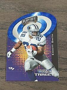 1997 Playoff Zone Prime Target Emmitt Smith #1 Dallas Cowboys
