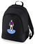 Football-TEAM-KIT-COLOURS-Burnley-Supporter-unisex-backpack-rucksack-bag miniatuur 1