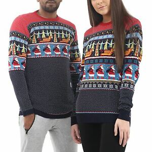 Mens-Ladies-Ex-Store-Matching-Christmas-Sweater-Jumper-Sweatshirt-Xmas-His-Hers