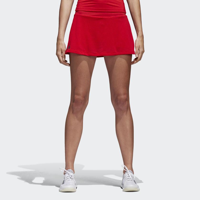 adidas Wmns Barricade szoknya Női Red Black Tennis CE1452
