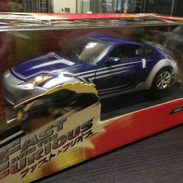 JOYRIDE 1/18 Scale Car Fast & Furious Nissan 350Z 2003