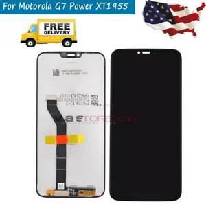 For Motorola Moto G7 Power Xt1955 2 Xt1955 5 Lcd Display Touch Screen Replace Qc Ebay
