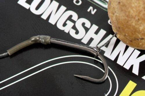 Barbed Korda NEW Long Shank X Carp Fishing PTFE Hooks Barbless