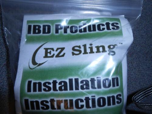 Lote De 10 Ibd e-Z Universal Sistema Sling ombro Rifle Caça
