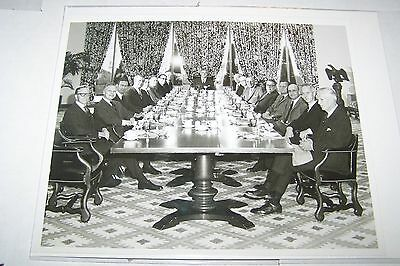 #1041 PHOTO NEGATIVE - 1969 FIRST WISCONSIN BANK MEETING ROOM