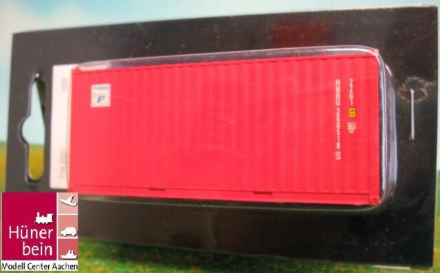 B-Models 2021 20' Container IP INTERPOOL rot Ladegut H0 1:87 NEU+OVP